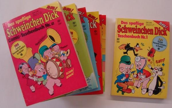 Spassige Schweinchen Dick Taschenbuch (Condor, Tb.) Nr. 1-17 kpl. (Z0-2)