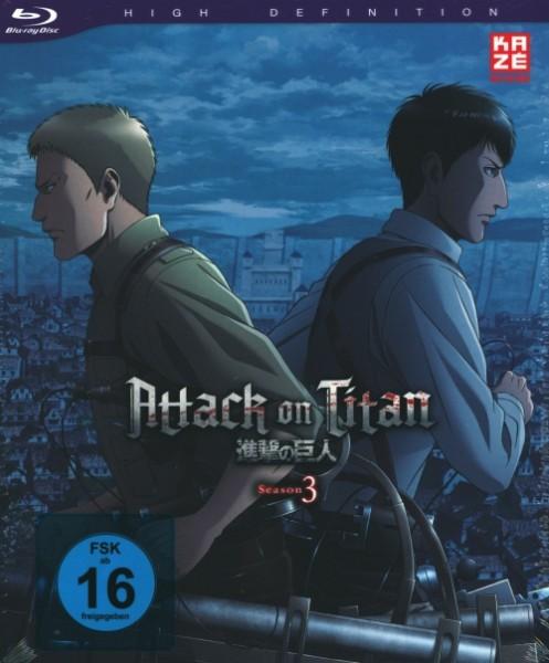 Attack on Titan Season 3 Vol.3 Blu-ray