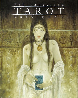 Labyrinth - Tarot (Norma, B.) Luis Royo