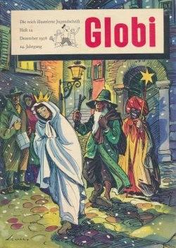 Globi (Globi, Gb., Vorkrieg) Jahrgang 1958 Nr. 1-12