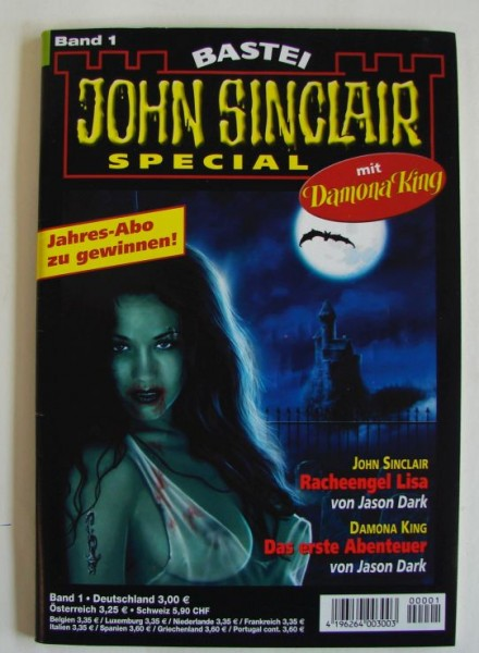 John Sinclair Special (Bastei) Nr. 1-42 kpl. (Z0-2)