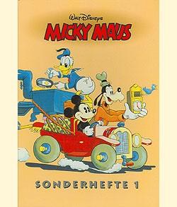 Micky Maus Reprintkassetten (Ehapa, Kassette) Sonderhefte Nr. 1-3
