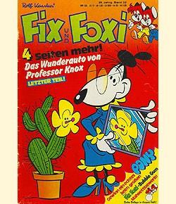 Fix und Foxi (Pabel, Gb.) 26. Jhrg. mit Beilage Nr. 9-52