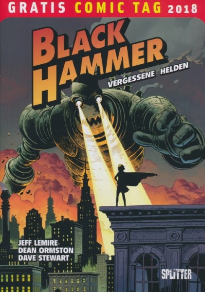 Gratis Comic Tag 2018: Black Hammer