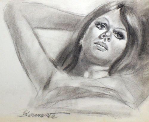 Originalzeichnung (0854) Benavente