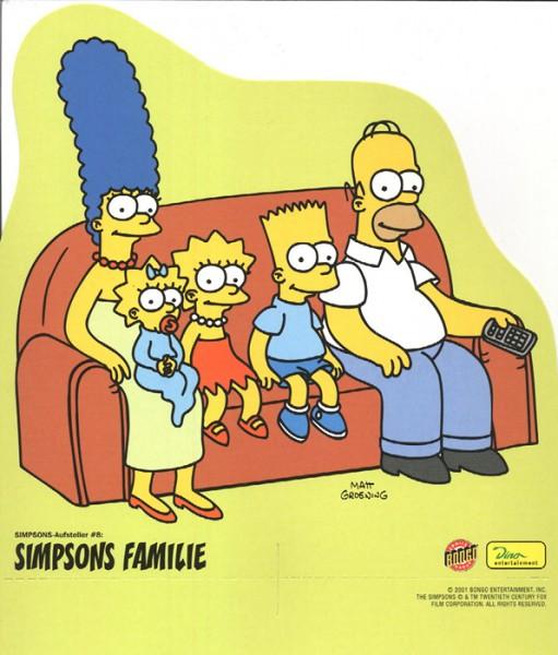 Simpsons-Aufsteller (Dino) 8 Simpsons Familie