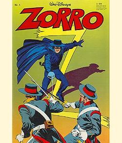 Zorro (Ehapa, Gb.) Jahrgang 1979 Nr. 1-3