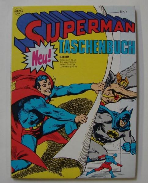 Superman Taschenbuch 1. Auflage (Ehapa, Tb.) Nr. 1-79 zus. (Z0-2) mit Nr. 78 (Z3)