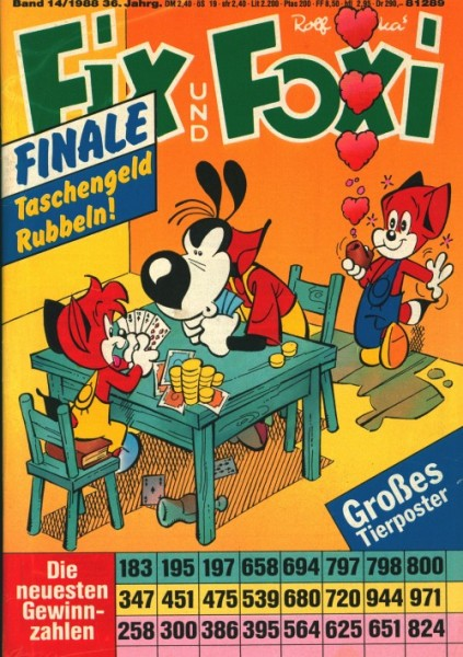 Fix und Foxi (Pabel, Gb.) 36. Jahrgang Nr. 1-52 kpl. (Z0-2)