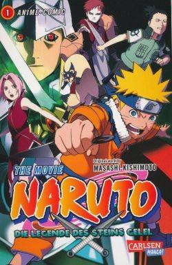 Naruto - The Movie 2: Die Legende des Steins von Gelel 1