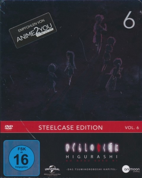 Higurashi Vol. 6 Steelcase Edition DVD