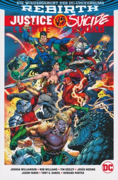 Justice League vs Suicide Squad Paperback SC