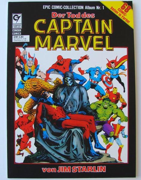 Epic Comic-Collection (Condor, Br.) Nr. 1-5 kpl. (Z1)