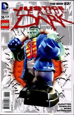 Justice League Dark Lego Variant 36