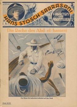 Hans Stosch-Sarrasani (Sarrasani, VK) Nr. 1-98 Vorkrieg 1929
