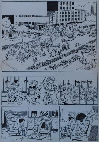 Originalzeichnung (0291) Kiko-2000 6 Seiten zus.