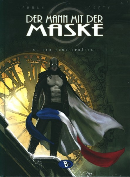 Mann mit der Maske (Bunte Dimensionen, B.) Nr. 4