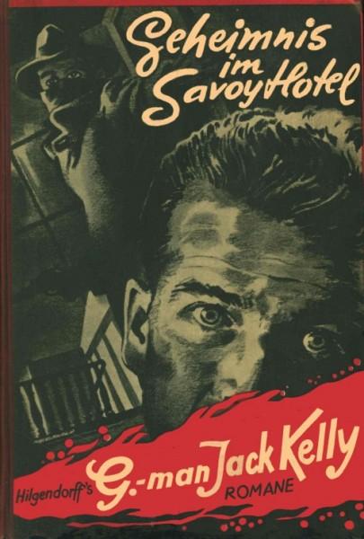 G-Man Jack Kelly Leihbuch Geheimnis im Savoy Hotel (Hilgendorff)