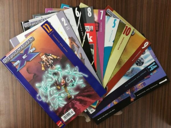 Paket 3719 10 verschiedene Ultimativen X-Men (Panini, Gb.) (Z1-2)