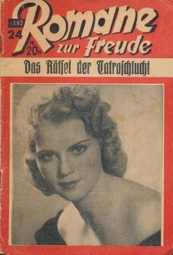 Romane zur Freude (Schmidt, VK.) Nr. 1-57 Vorkrieg