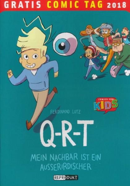 Gratis Comic Tag 2018: Q-R-T