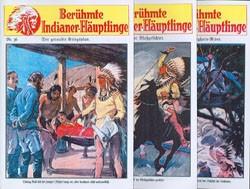 Berühmte Indianer-Häuptlinge (Reprints, Vorkrieg) Nr. 36-70 zus. (neu)