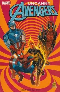 Uncanny Avengers 1 (2016) Variant Stuttgart Con