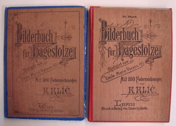 Bilderbuch für Hagstolze (Klic&Spitzer/Glaser&Garte, B.) 1-5 zus.(Z2)