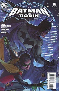 Batman & Robin 1:15 Variant-Cover Nummer 16