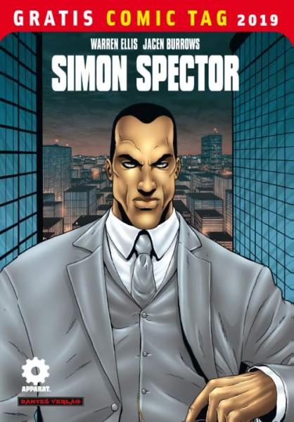 Gratis Comic Tag 2019: Simon Spector