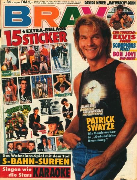 Bravo Jahrgang 1991 Nr. 1-52