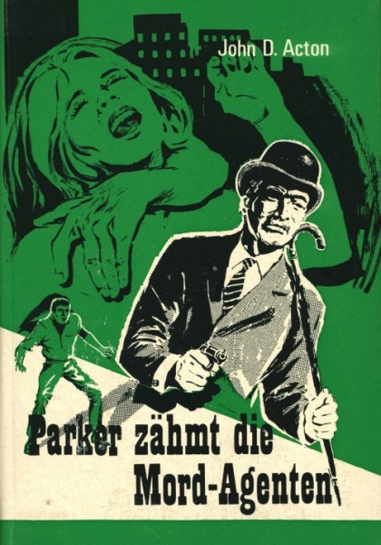 Butler Parker Leihbuch Parker zähmt die Mord-Agenten (Rekord)
