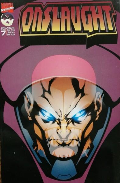 X-Men Special (Marvel, Gb., 1997) Variant Nr. 5 (Onslaught 7)