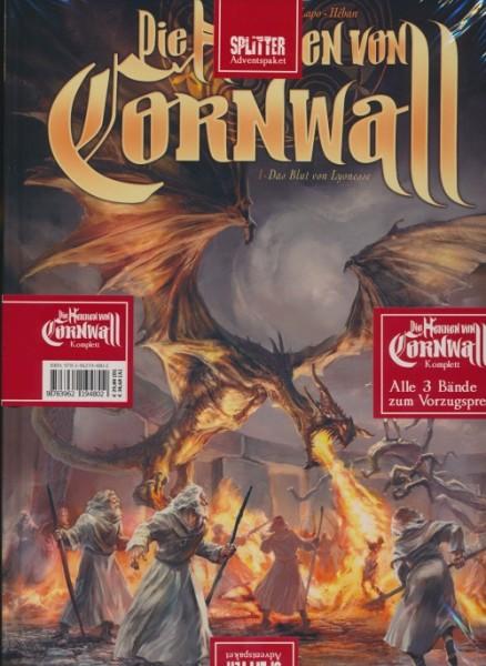 Splitter Adventspaket: Die Herren von Cornwall Band 1-3
