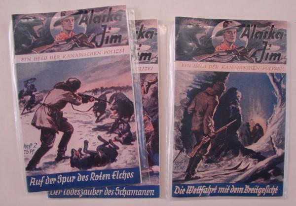 Alaska Jim (Romanheftreprints, Vorkrieg) Nr. 1-226 kpl. (Z1)