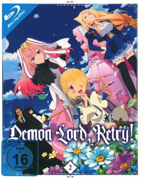 Demon Lord Retry Vol. 2 Blu-ray