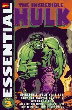 US: The Essential Incredible Hulk Vol. 3