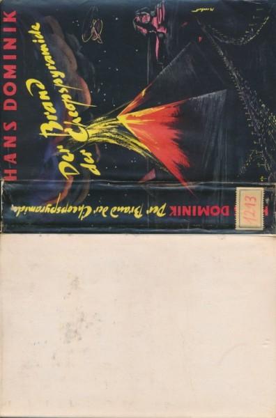 Dominik, Hans Leihbuch SU Brand der Cheopspyramide (Weiss) nur Schutzumschlag