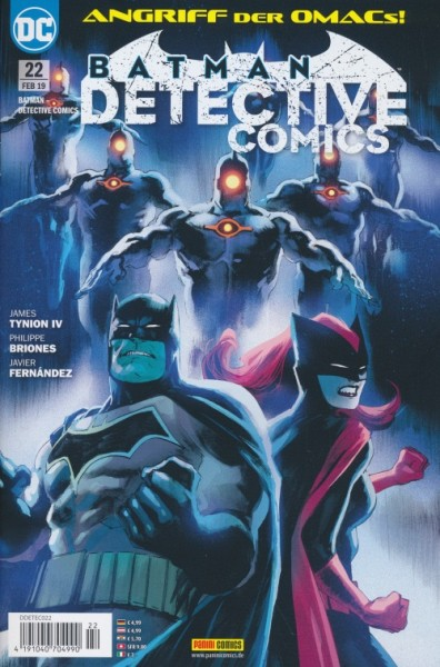 Batman Detective Comics (2017) 22