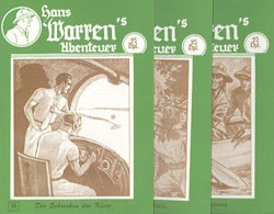 Hans Warrens Abenteuer (Romanheftreprints) Nr. 34-66 zus. (neu)