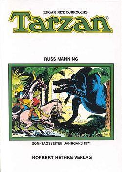 Tarzan Sonntagsseiten 1971