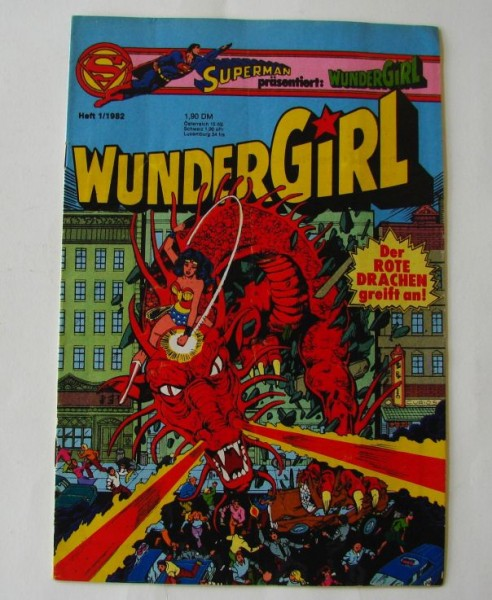 Wundergirl (Ehapa, Gb.) in kompletten Jahrgängen Jahrgang 1980 - 1983