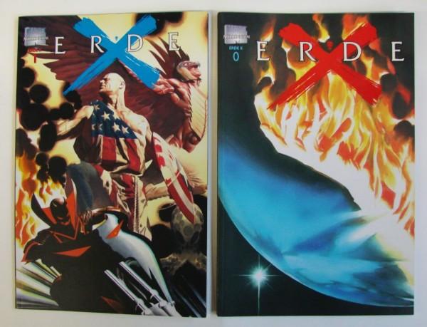 Erde X (Marvel, Br) Nr. 0,1-7 kpl. (Z1)