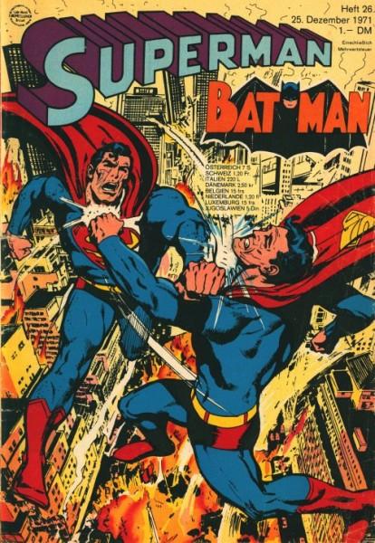 Superman (Ehapa, Gb.) Jahrgang 1971 Nr. 1-26