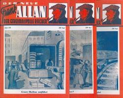 Neue Frank Allan/Tex Bandix (Romanheftreprints) Nr. 1-30 zus. (neu)