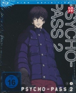 Psycho Pass - 2. Staffel Box 2 Blu-ray