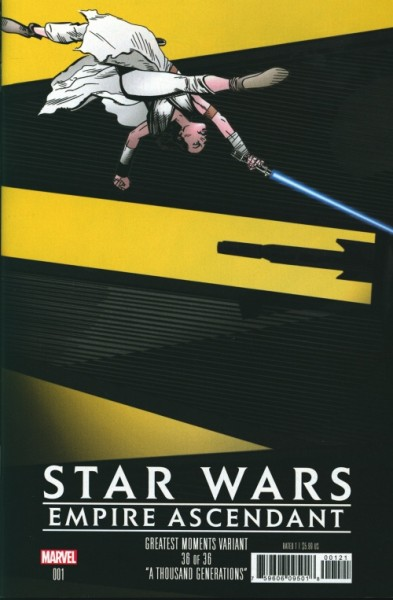US: Star Wars Empire Ascendant 1 Greatest Moments Variant