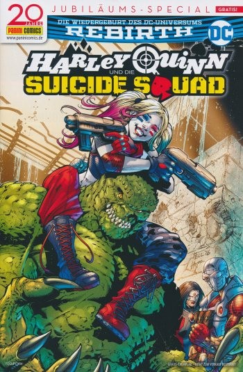 Panini Tag: Harley and Suicide Squad