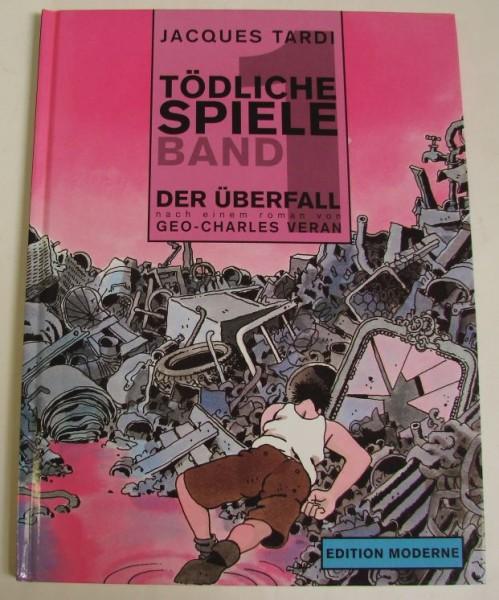 Tödliche Spiele (Edition Moderne, B.) Nr. 1-4 kpl. (Z1)