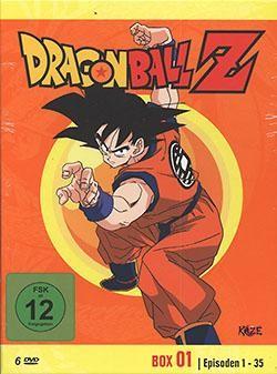 Dragon Ball Z DVD-Box 01